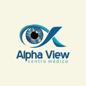 Logotipo Alpha View