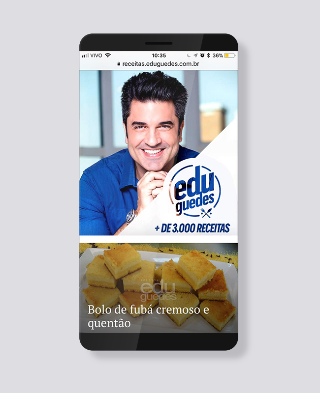 Cliente Blank Agência Criativa - Edu Guedes