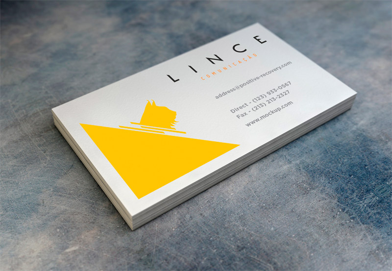 Criação logotipo Lince Comunicação