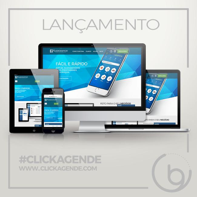 Lançamento website Clikagende