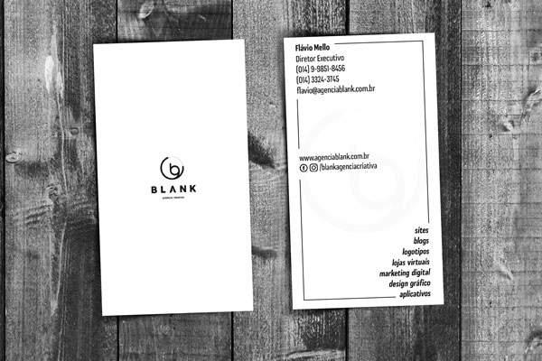 Cartão de visita: design é importante, conteúdo é fundamental