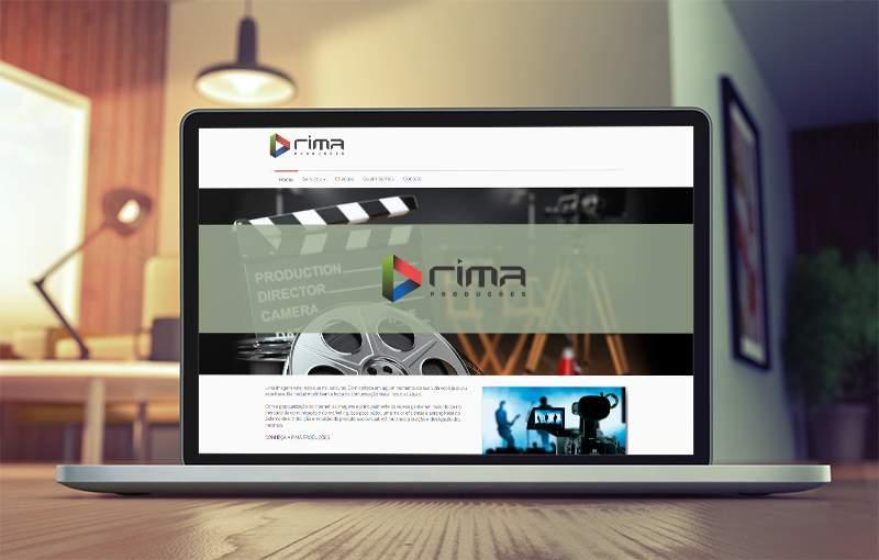 Lançamento website Rima Produções