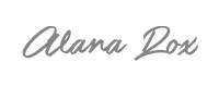 Logotipo Alana Rox - The Veggie Voice - Cliente Blank Agência Criativa