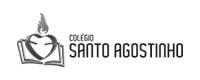 Logotipo Colégio Santo Agostinho - Cliente Blank Agência Criativa