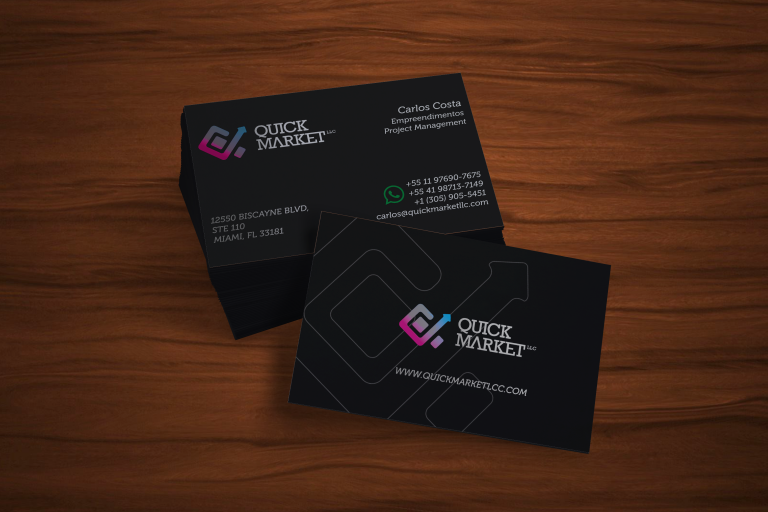 Cliente Blank Agência Criativa - Quick Market LLC